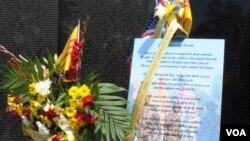 Lễ đặt Vòng hoa Tri ân nhanh chóng trở thành một truyền thống dù chỉ mới được phát động cách đây 4 năm.