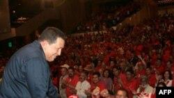 Juramentación del Comando Nacional de Campaña Bolívar 200 en el Teatro Teresa Carreño (27 de mayo 2010