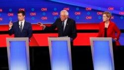 Warren et Sanders sous le feu des critiques au débat démocrate