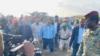 Presiden Somalia mengunjungi Kota Beledweyne yang dilanda banjir di Somalia Tengah. (Foto: Courtesy)