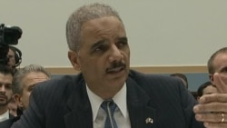 US Lawmakers Question Holder Over Domestic Scandals