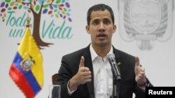 ဗင္နီဇြဲလား အတိုက္အခံ ေခါင္းေဆာင္ Juan Guaido
