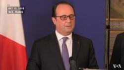French President Francois Hollande Addresses Nation