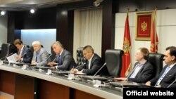 Sjednica Vijeća za nacionalnu bezbjednost (gov.me)