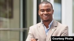 FILE - Liberian former youth leader Benjamin Sanvee.