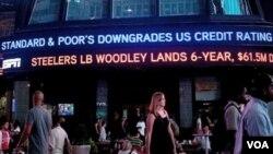 De acuerdo con Standard & Poor's, EE.UU. está ahora en una posición más desventajosa que otros países.
