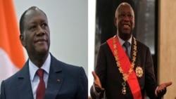 رییس جمهوری پیشین نیجریه، در دیداری از پیش اعلام نشده از ساحل عاج