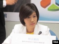 台湾在野党国民党立委王育敏