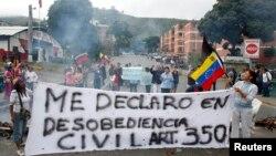 Hasta ahora las leyes amparan la protesta política como un derecho de los ciudadanos.