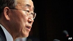 UN Secretary-General Ban Ki-moon (file photo)