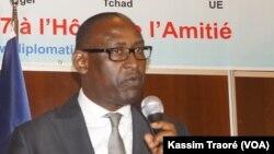 Le ministre malien des affaires étrangères Abdoulaye Diop, 5 juin 2017.