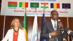 Ministre Abdoulaye Diop ko ka MUNISMA Sinsi Kossebe.