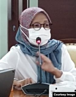 Direktur Rehabilitasi Sosial Anak, Kementerian Sosial, Kanya Eka Santi. (foto: courtesy)