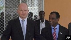 UK oo Diiday in la Qaado Cunaqateynta Hubka Somalia