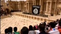 2015-07-05 美國之音視頻新聞:伊斯蘭國激進分子公開處決敘利亞軍人