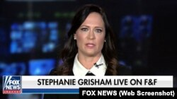 Стефани Гришем, пресс-секретарь Белого дома