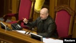 乌克兰前总理季莫申科的长期盟友议会议长图奇诺夫