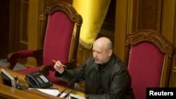 議長亞歷山大諾夫出任烏克蘭臨時總統