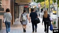 Suasana di kota Wellington, setelah pemerintah melonggarkan aturan karantina wilayah di tengah pandemi Covid-19, 28 April 2020. (Foto: dok).