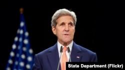 美国国务卿克里(资料)