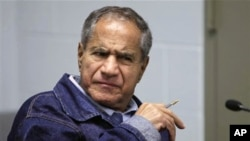 Sirhan Sirhan, now 66, convicted of assassinating Sen. Robert F. Kennedy in 1968, is seen during a Board of Parole Suitability Hearing, March 2, 2011
