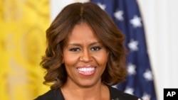 میشل اوباما، همسر بارک اوباما رئیس جمهور امریکا