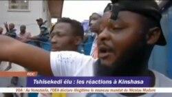 Kosepela na balandi ya Félix Tshisekedi na Kinshasa