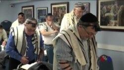 美国各地各宗教信徒选举后为国祈祷