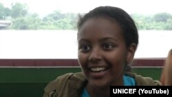 Nhà hoạt động trẻ Hannah Gedefa, Đại sứ Thiện chí của UNICEF ở Ethiopia