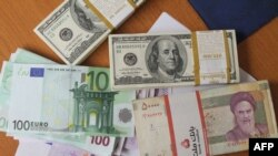 The Iranian rial has plummeted against the dollar in recent days further unsettling Iran's economy.