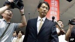 參加會談的日本外務省東北亞課長小野啟一