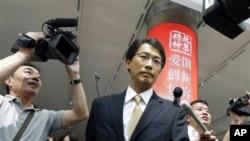 29일 4년만에 열린 북-일 정상회담에 참석하기 위해 중국 베이징 공항에 도착한 오노 게이이치 일본 외무성 동북아시아 과장.