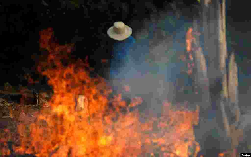 ایمیزون کے جنگلات میں لگی آگ انتہائی شدّت اختیار کر چکی ہے۔ جس کا اندازہ اس بات سے لگایا جا سکتا ہے کہ یہاں گزشتہ ایک ماہ سے آگ بجھانے کی کوششیں کی جا رہی ہیں۔