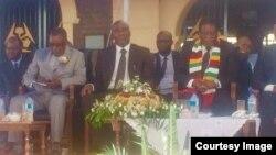Emmerson Mnangagwa NRZ Launch