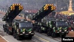 هند سال گذشته دومین واردۀ کنندۀ بزرگ اسلحه در جهان بود