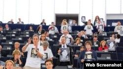 Avropa Parlamentində Azərbaycanda siyasi məhbsulara azadlıq aksiyası