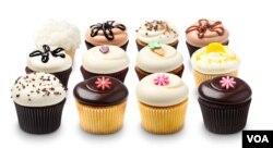 Berbagai jenis Cupcake kreasi Georgetown Cupcake.