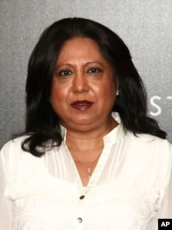 """Pramila Patten, who serves as the U.N. Secretary-General's Special Representative on Sexual Violence in Conflict, attends a movie screening of Netflix's """"First They Killed My Father,"""" Sept. 14, 2017, in New York."""