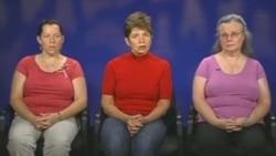 مادران سه کوهنورد آمريکايی در سالگرد بازداشت فرزندان خود خواستار آزادی آنها شدند