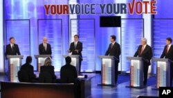 Republican Presidential Contenders Hold Last New Hampshire Debates