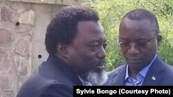 Président Joseph Kabila, à Kingakati, Kinshasa, 23 décembre 2019. (Sylvie Bongo)