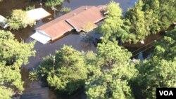 Ngập lụt ở Texas do bão Harvey gây ra