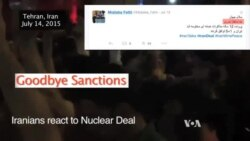 Iranians React to Nuclear Sanctions Deal
