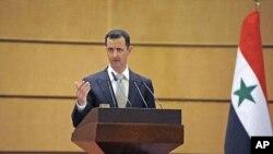ປະທານາທິບໍດີ Bashar al-Assad ແຫ່ງຊີເຣຍ. ວັນທີ 15 ກຸມພາ 2012.