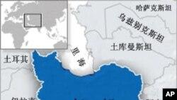 伊朗的地理位置