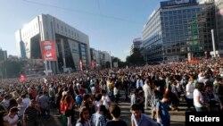 Protesti u Ankari protiv turskog premijera Redepa Tajipa Erdogana
