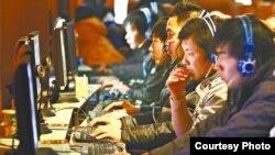 全国人大常委会通过网络安全法(苹果日报图片)