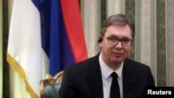 Predsednik Srbije Aleksandar Vučić, Foto: (arhiva), REUTERS/Costas Baltas