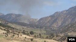 طالبان از پنج روز به اینسو منازل ساکنین دانگام را به آتش می کشند