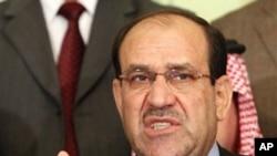 Iraqi Prime Minister Nouri al-Maliki (file photo)